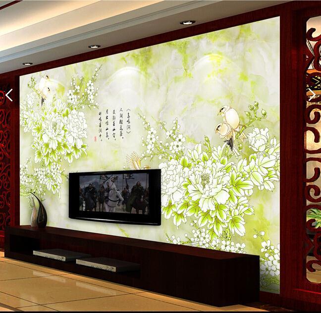 吊頂背景墻-背景墻雕刻 萬里長城背景墻-會議室背景墻 電視